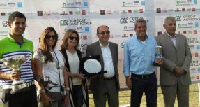 Credit Agricole Egypt the Main Sponsor of Sporting Club's Golf Tournament in Alexandria